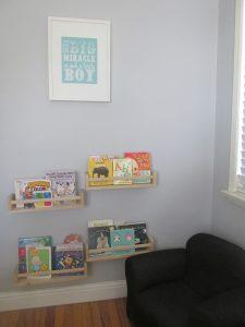 Blue and Gray Nursery