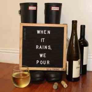 Anything to get through the rainy day, right? #momhumor #rainyday #rainedin #howtosurvivearainyday #mommyhumor #momlife