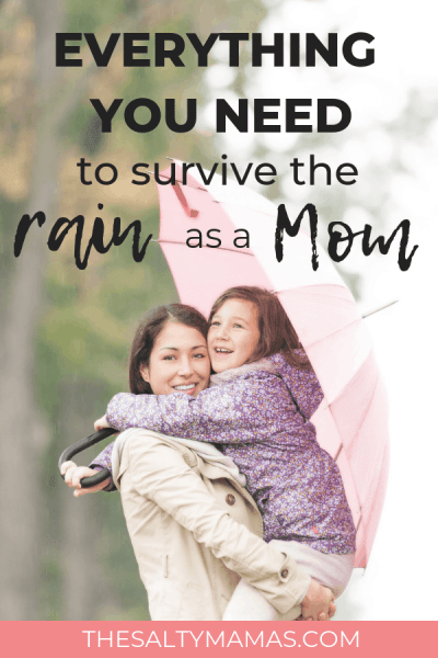 We're always thinking about what the KIDS need, but don't forget everything a Mom needs to survive a rainy day! #rainyday #rain #survivingarainyday #howtosurvivearainyday #rainydayschedule #kidsrainyday #momsrainyday #itsraining #whattodowhenitsraining #rainydayfun