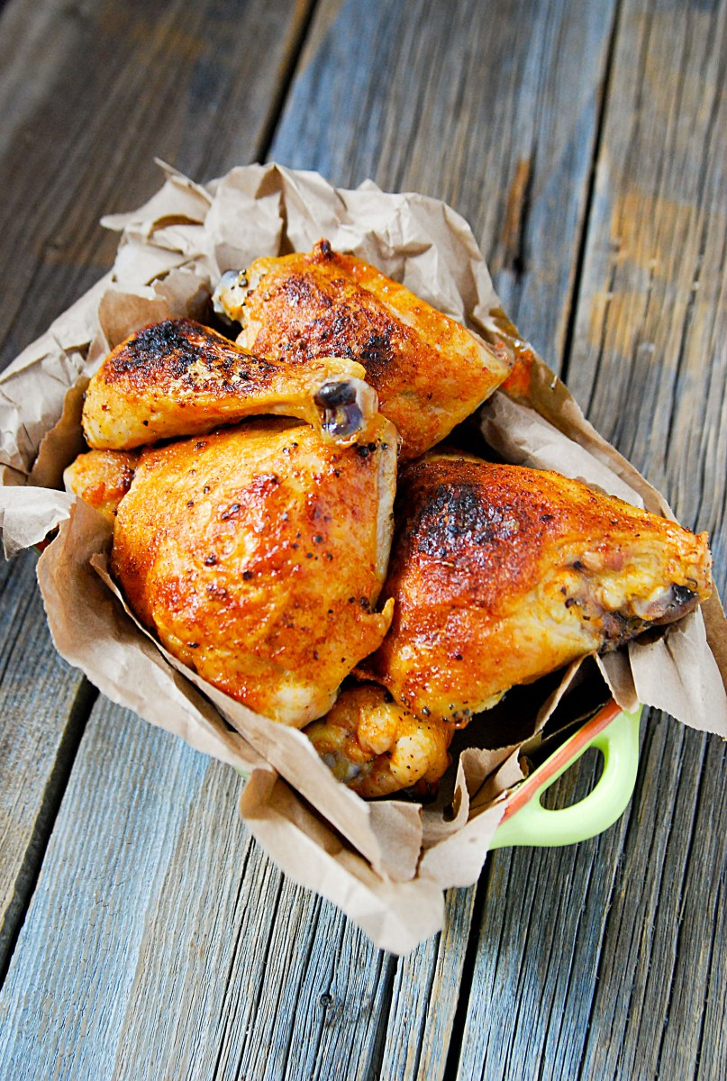 Crispy Buttery Buffalo Baked Chicken