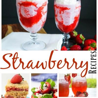 20 luscious, scrumptious fresh strawberry recipes!
