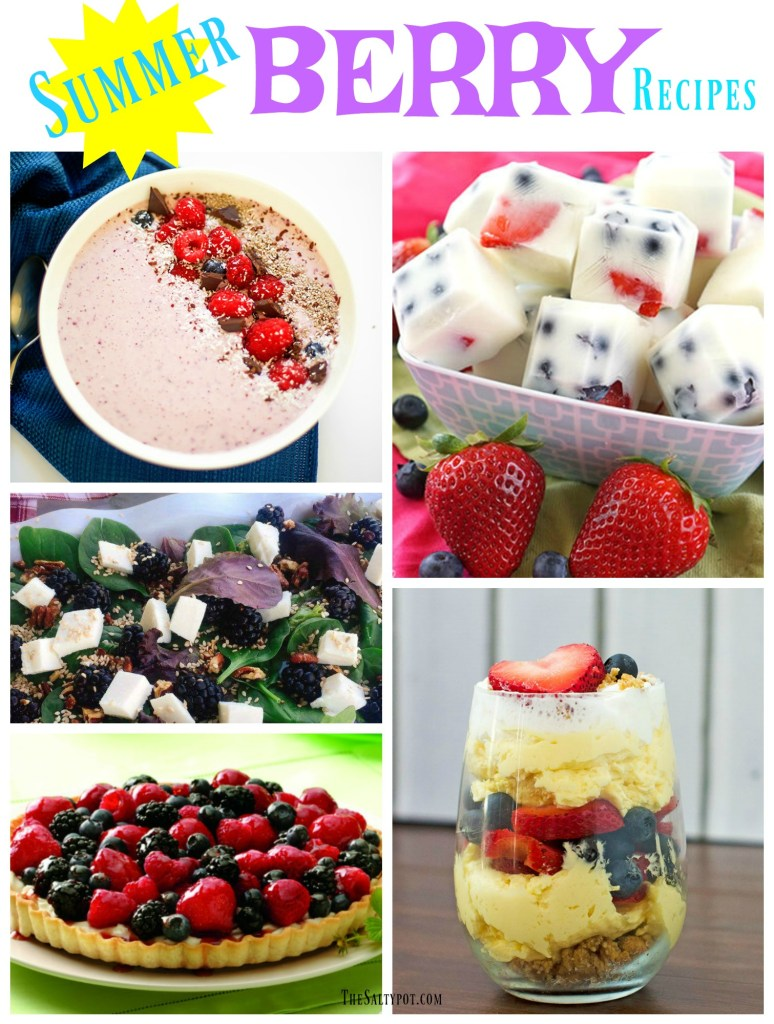 9 amazingly tasty summer berry recipes