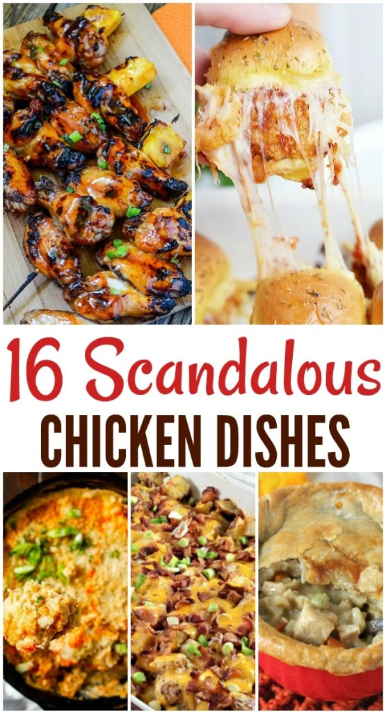 16 chicken recipes that will knock your socks off