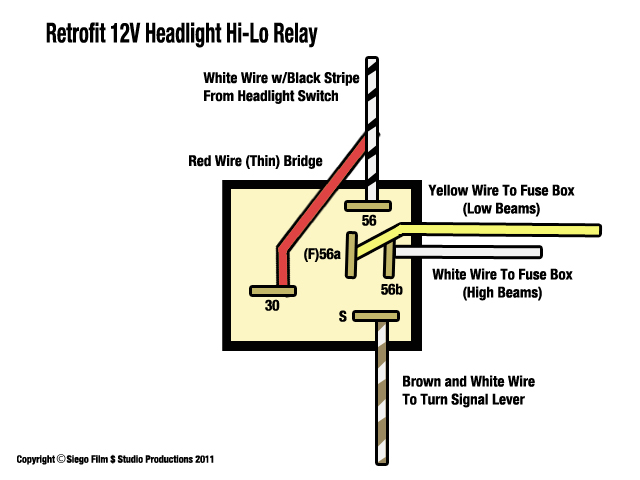 1966 Headlight Relay