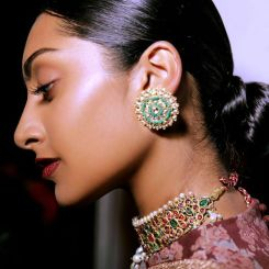 Kishanas for Sabyasachi Studs for appx 2.5 lac