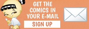 Subscribe and get the Samurai Boy comics directly in your e-mail