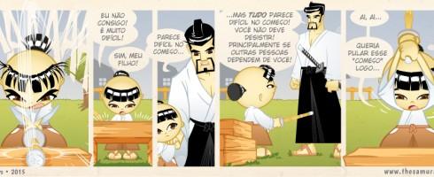 S02E07 Tudo parece difícil no começo - Samurai Boy