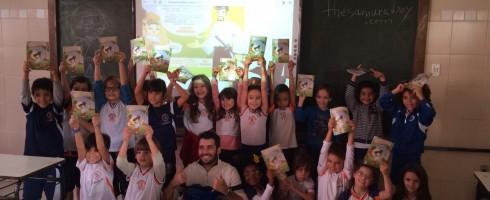 Visit to São Miguel students