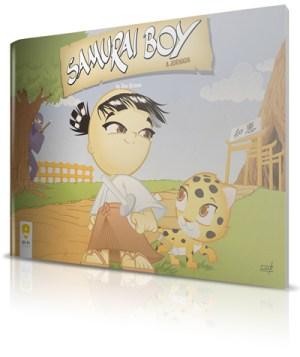 Samurai Boy: A Jornada - HQ em pré-venda