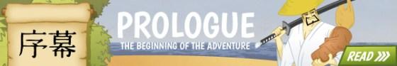 Prologue - the path of the samurai