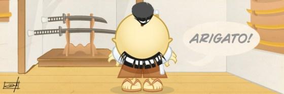 Samurai Boy Arigatô