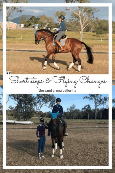 Short steps & Flying Changes