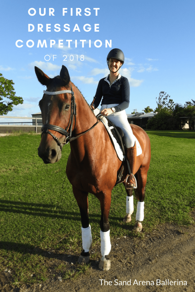Our first dressage competition of 2018
