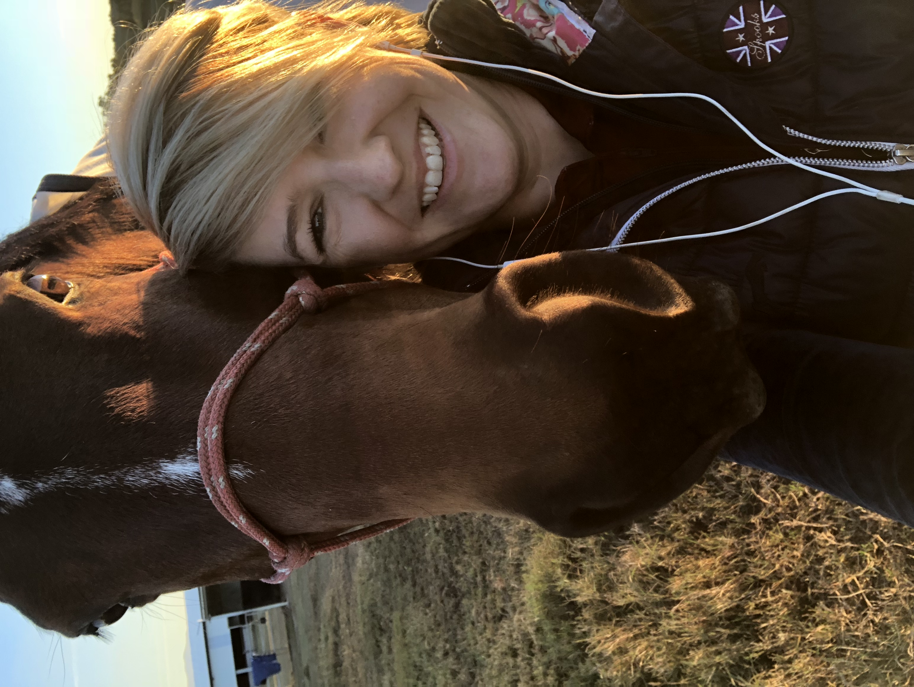 Day 29 of The Horse Riders Challenge - Equestrian Selfie