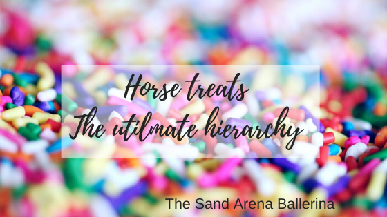 Horse treats – The ultimate hierarchy