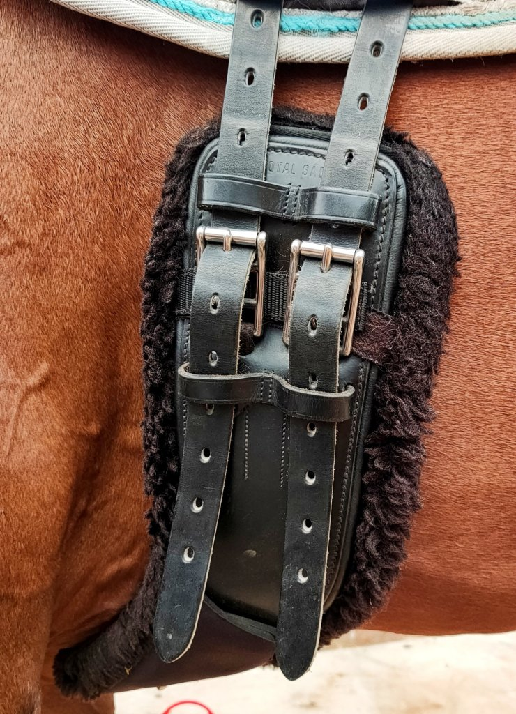 I have been exceptionally impressed with the quality of my Total Saddle Fit girth and most importantly Nonie likes it too