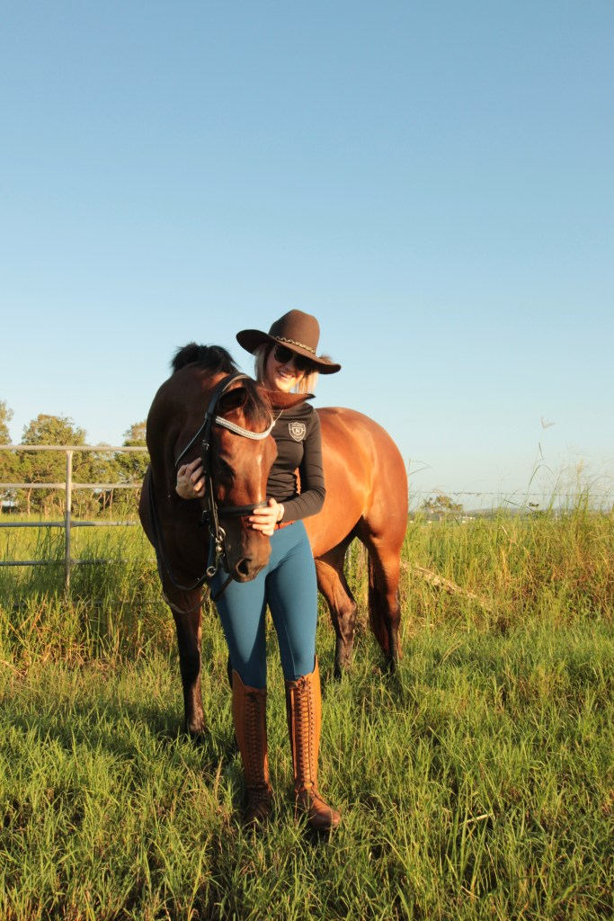 Broad brimmed hats are an essential sun safety measure for all equestrians