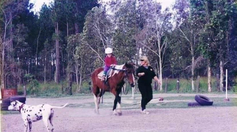 Alex's introduction to the equestrian world was through horse riding lessons at a local school