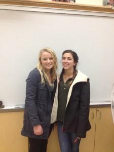 Christiana Smith and Jenna Fenstermaker