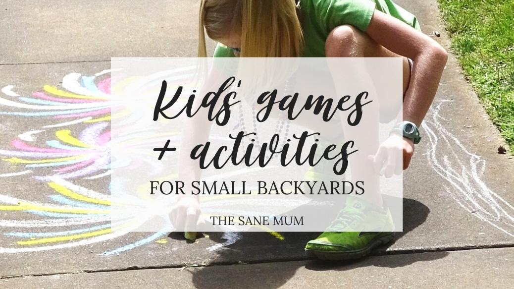 outdoor games small backyard