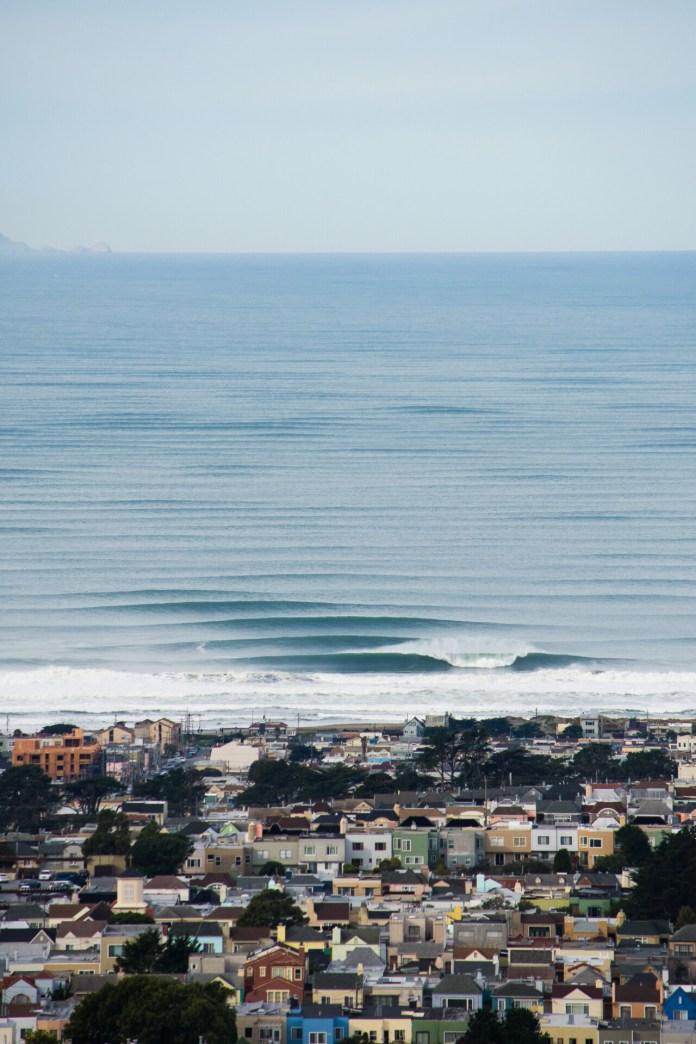Organized ocean swell