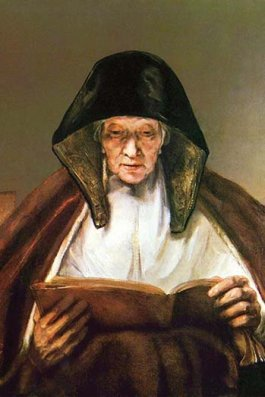 """""""Old woman, reading """""""