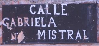 calle gabriel mistral