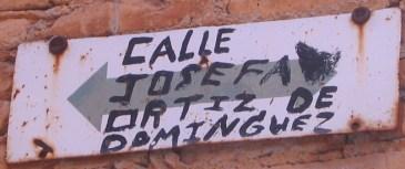 Calle Josefa Ortiz de Dominguez