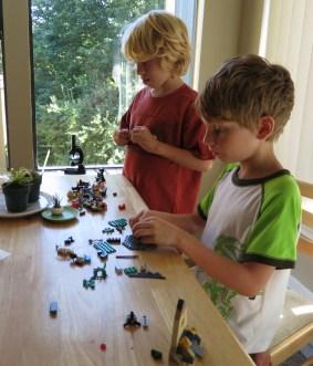 Preparing legos