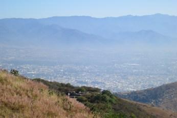 Oaxaca Valley from Monte Albán