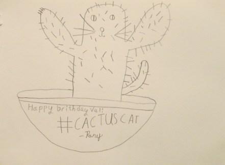 compressed cactus cat