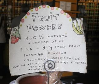 fruit powder descrptn