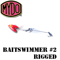 The MYDO Baitswimmer #2 Couta Trace