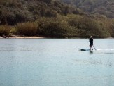 Captain Gallop aka Robin Beatty gets to grips with the Wavejet powered SUP