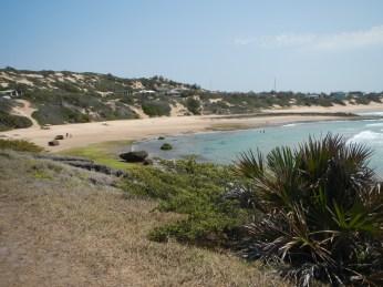 Tofinho Beach. Deserted.