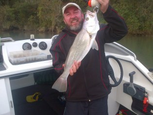 And it's Chris Lepan again with another Umzimkulu Estuary kob.