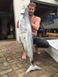 Another lovely sized couta submitted by Jason Heyene for Spearfishing report South Africa
