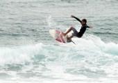 Nathan Plomaritis flying