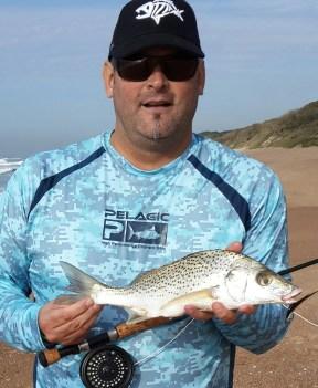 Fly fishing Umdloti with JP Bartholomew