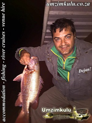 Dejan Vujevic and his Umzimkulu Rock Salmon