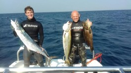 Very good spearfishing