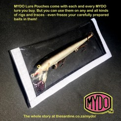 Mydo Pouch with hard plastic lure