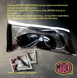 MYDO Lure Pouch used to protect almost anything