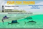 Four Fish Trading in Nelspruit for all your fishing tackle requirements