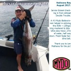 Fishing Igfa with Mydo worked for Jannie Griesel here at Sodwana Bay last weekend. #3 sized Mydo Baitswimmer