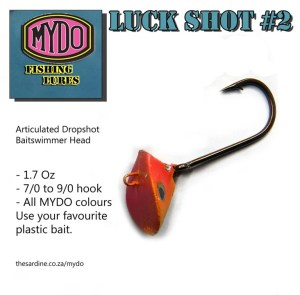 The MYDO Luck Shot #2 for casting to kob, garrick, tuna, kingfish, king and queen mackerel, cobia, dorado...
