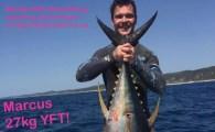 Marcus Yellowfin Tuna 27kgs