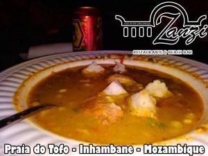 ZanziBeach serves up a grand fish soup every day