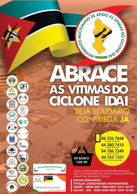 Helping Cyclone Idai victims in Maputo - Movimento Muculmano. Based in Maputo