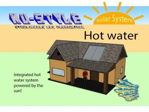 Solar Hot Water System by NuStyle